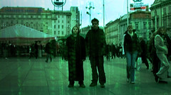 End of the Matrix - Protagonists (Phil Dragash) Tags: city two people green film matrix movie tim screenshot jake zagreb trinity rack neo flick morpheus trigger thematrix motionpicture fanfilm eom rabbithole endofthematrix