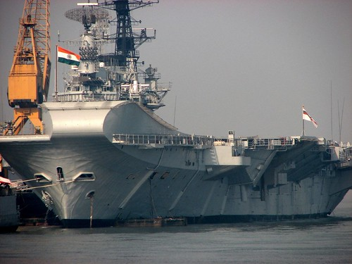 Indian Navy Aircraft Carrier INS Vikrant Wallpaper