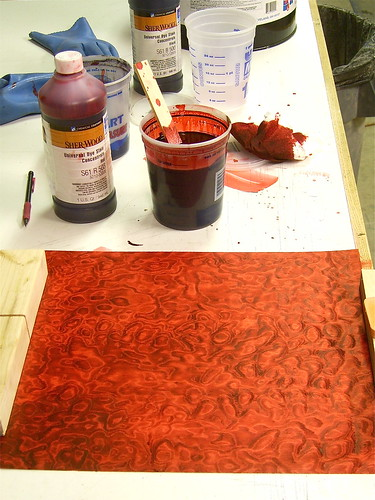 Red dye sample