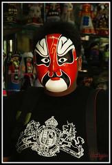 chinese traditional mask (kymioflario) Tags: china red opera mask traditional chinese shenzhen vi hakym minichina ilovemypic kymioflario