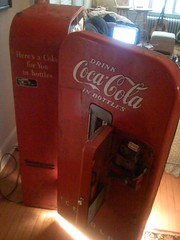 Old Coca-Cola Machine