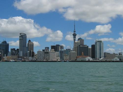 Auckland por Crestazzo.
