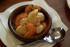 La Marina restaurant, Shellharbour: Scallops