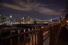 Manhatten from Brooklyn (juanmotai) Tags: bridge ny brooklyn manhatten
