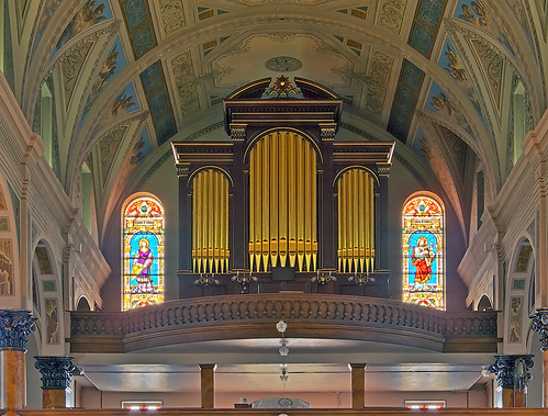 Saint Joseph Shrine, in Saint Louis, Missouri, USA - pipe organ