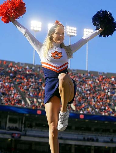 College football cheerleader pussy