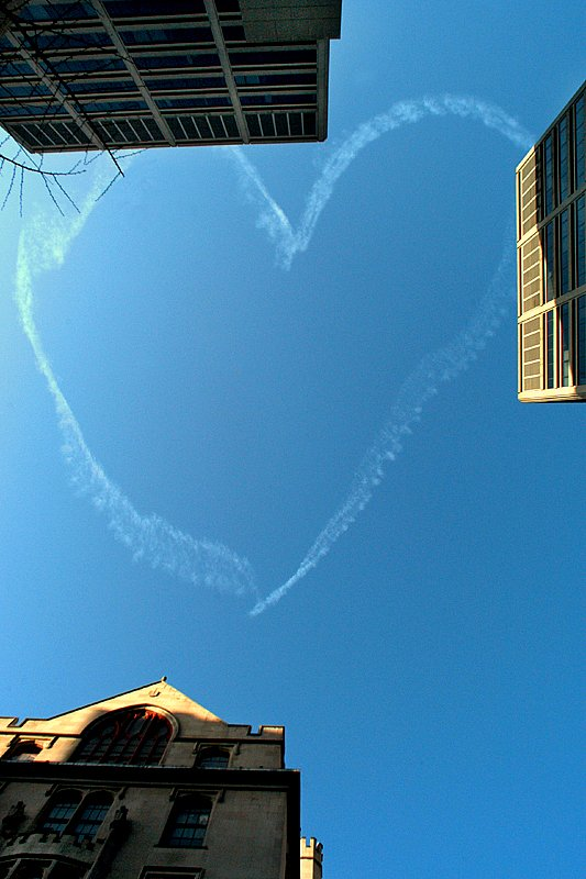 A heart as big as the sky.