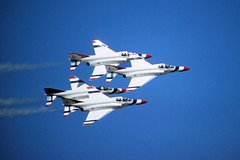 F-4 Diamond (mvonraesfeld) Tags: plane fighter aviation jet diamond explore thunderbirds phantom usaf f4 usairforce mcdonnell mcdonnelldouglas f4e phantomii