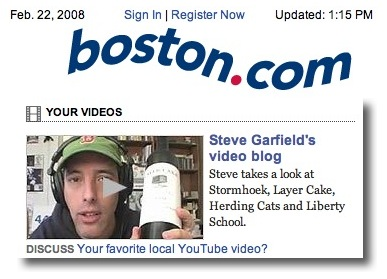 Four Wines on boston.com