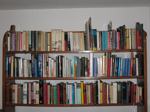 Close Up bookshelf