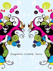 Imagination. Creativity. Desire. (ellenich) Tags: art creativity design competition desire imagination vector uprinting