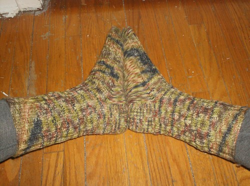 Zombies in the Mist Socks - complete