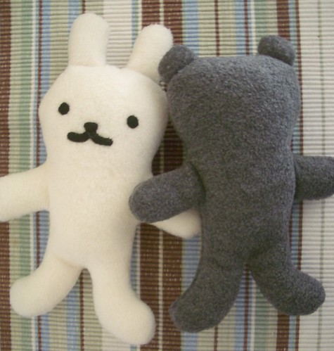 Mini Wabbit & Faceless Bear