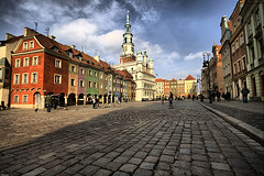 hometown in color (Sylwia a.k.a. sweet.hobbes) Tags: bravo wide poland oldtown hdr pozna