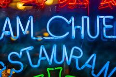 Dinner Time Sign Dinner Time Neon Delight