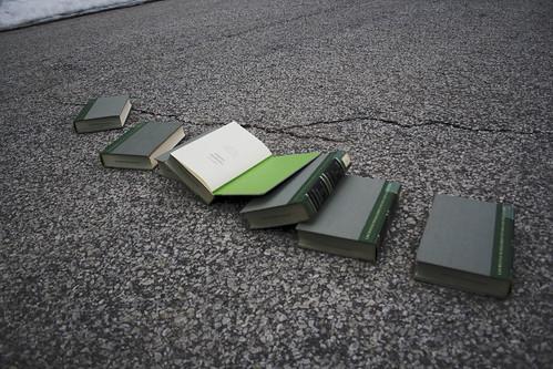 Books Sprawled Out