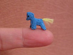 Horse with no name (MUFFA Miniatures) Tags: horse cute miniature funny crochet amigurumi muffa
