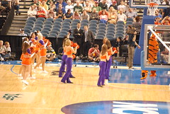 NCAA2008Round1-0325 (awinner) Tags: orange game basketball ball cheerleaders tigers ncaa 2008 underdog marchmadness tampaflorida clemsonuniversity march2008 stpetersburgtimesforum march21st2008