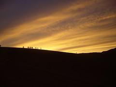 San Pedro Atacama - Valle de la luna dune - coucher de soleil