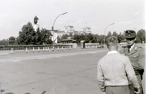 Near the Soviet War Memorial, West Berlin, 25 August 1962