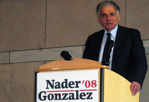 Ralph Nader Banner