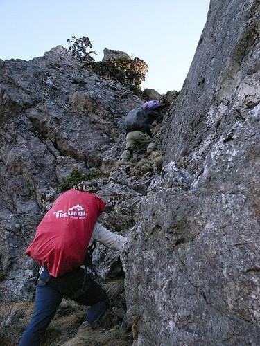爬岩是此行一定要的