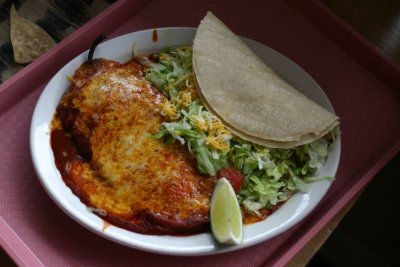 Bobby D's - Chile Relleno and Soft Taco