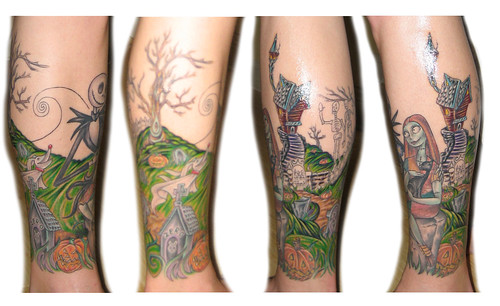 Nightmare Before Christmas Leg Sleeve : P4