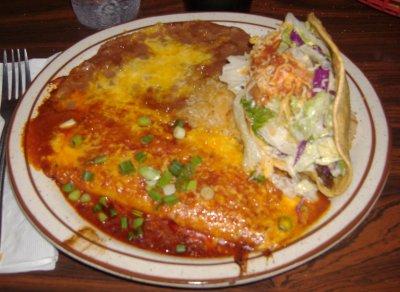 Azteca - Taco/Enchilada Combo