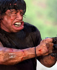 Rambo (Sebastian Niedlich (Grabthar)) Tags: celebrity monster photoshop manipulated movie photoshopped manipulation freak actor mutant manip celeb rambo photoshopping botox sylvesterstallone grabthar sebastianniedlich
