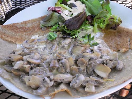 Crepes Cafe - Portobello Mushrooms Galette