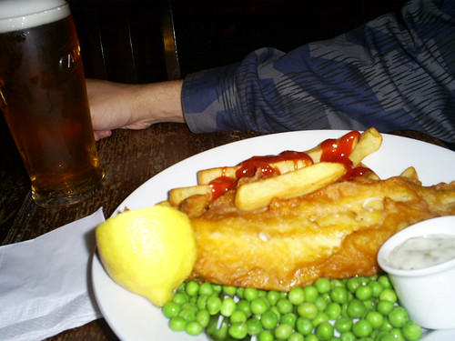 Fish & Chips Pub style