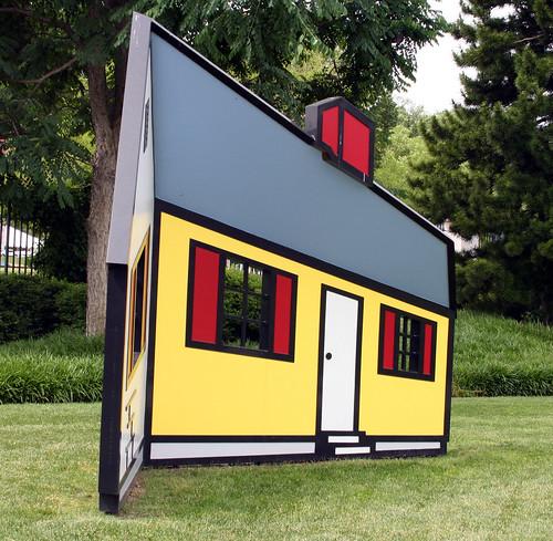 House I - Roy Lichtenstein - side view - a photo on Flickriver
