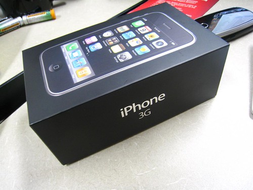 iPhone 3G Box