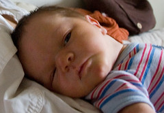 Linus three days old