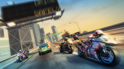 Bikes in Burnout Paradise