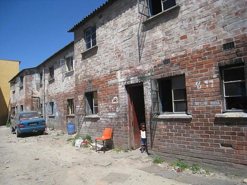 Old public housing units