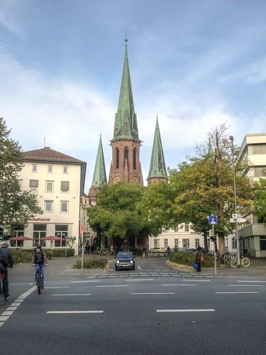 334-Y AHORA TRES TORRES- ST LAMBERTI CURCH- OLDENBUG - ALEMANIA -