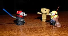 Darth Danbo (thinduck42) Tags: minions starwars danbo danboard panasonic fz1000 actionfigure toy hss lumixdmwfl360f