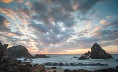 Camel Rock Dawn (laurie.g.w) Tags: camelrock dawn southcoast nsw coast shoreline seascape coastline waterscape sky cloud rocks water ocean sunrise australia bermagui beach landscape focus tokina17mm