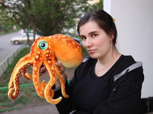 Кот и осьминог / Kot and octopus