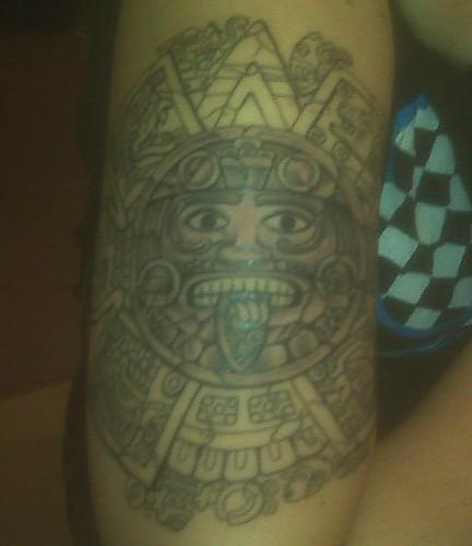 Mayan Calendar tattoo