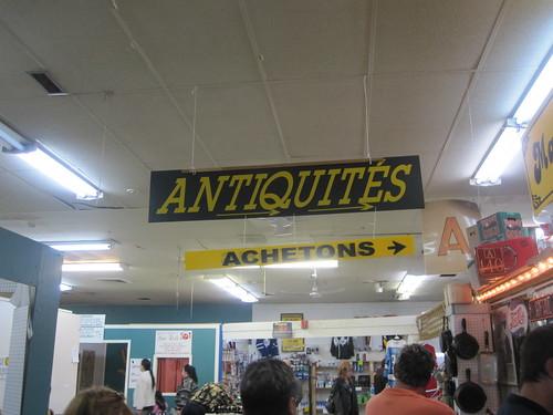 """Ches """"Antiquités Achetons"""""""