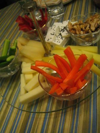renkli peynir tabağı