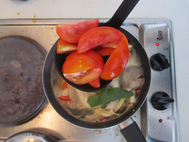 Thai sour soup