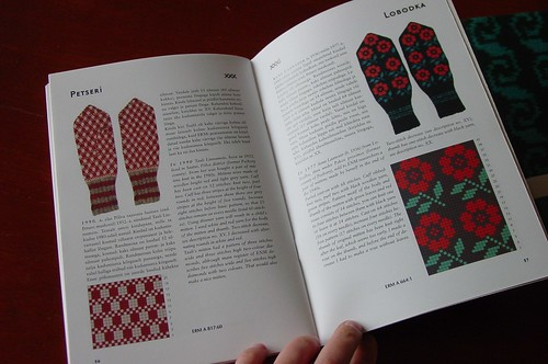 Aino Praakli, Patterned Mittens: looking inside