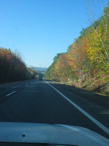 road to Rhinebeck