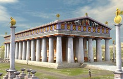 Temple of Zeus at Olympia (Wonders _) Tags: world ancient greece zeus seven olympia wonders sevenwonders ancientgreece the ancientworld classicalantiquity greekculture phidias greekhistory thesevenwondersoftheancientworld lastatuadizeusadolimpia statueofzeusatolympia sevenwondersancientworld