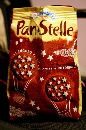 A Bag of Pan di Stelle Cookies