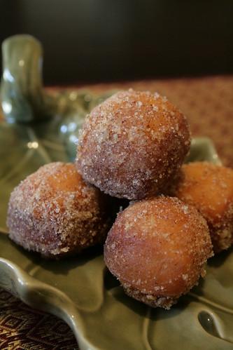 pumpkin doughnuts 009